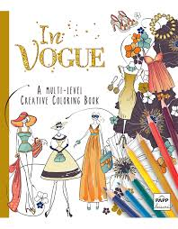 creative coloring books creative coloring in vogue beaver books publishing