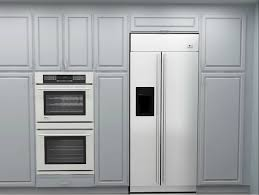 How To Install Wall Kitchen Cabinets Simple Kitchen Cabinets Refrigerator I To Design Decorating Within