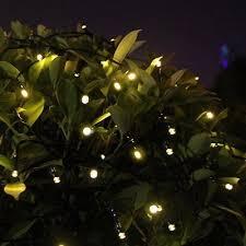 outdoor christmas lights for bushes solar powered string fairy lights outdoor garden xmas wedding light