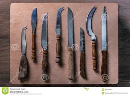 old kitchen knives home decoration ideas