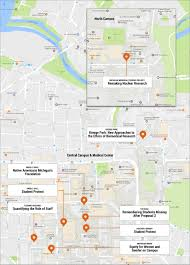 Michigan Campus Map by Pop Up Exhibition At U M Tackles Controversial Historical Moments