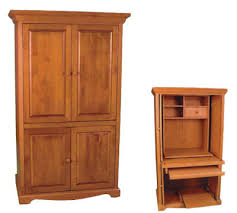 Computer Armoire With Pocket Doors Trad Computer Armoire Buy In Burnaby