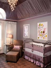nursery light fixtures behind the color purple hgtv