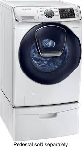 Samsung Pedestals For Washer And Dryer White Wf6500 Addwash Samsung 27