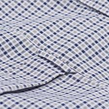 gant men s tech prep twill check shirt stone grey