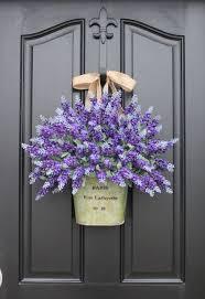 12 beautiful door decorations that aren t wreaths lavender
