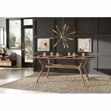 livingroom table sets living room langley cassius trestle dining table wayfair
