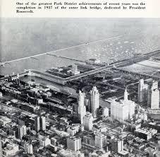 Aerial Map Of Chicago by Lake Shore Drive Bridge Outer Drive Bridge Historicbridges Org