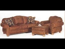 distressed leather sofa with nailhead trim youtube