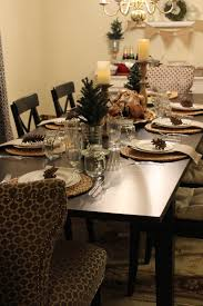 the thanksgiving chair simple thanksgiving table decor the finishing touches kitchola