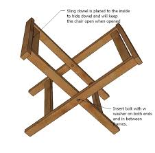 Free Wooden Folding Step Stool Plans by Ana White Folding Camp Stools Diy Projects
