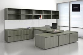 Grey L Shaped Desk by Furniture Surprising U Shaped Desk With Hutch Ideas Made 4 Home