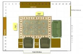 area rug sizes lowes size guide for bedrooms with double beds