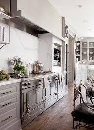 La Cornue Kitchen Designs 66 Gray Kitchen Design Ideas White Marble Gray Cabinets And