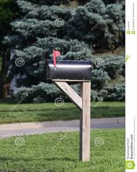 Mailbox Flag Mailbox With Flag Raised Stock Photo Image Of Mail Summer 31780756