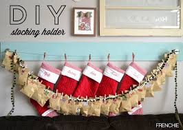decorating diy a simple christmas stocking hanger with a tail for