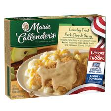 marie callender u0027s country fried pork chop u0026 gravy 15 ounce
