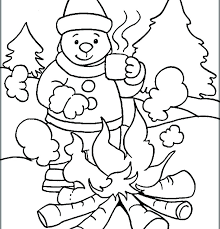 cute winter coloring pages coloring pages that are printable winter coloring sheets printable