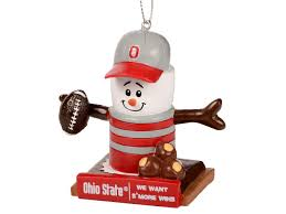 forever collectibles thematic smore ornament go bucks