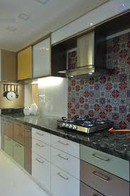 modern kitchen india large kitchen by sonali shah architect in mumbai maharashtra