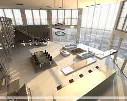 Open Plan Kitchen Living Room Ideas Open Plan Penthouse Design Layout Living Rooms With Great Views