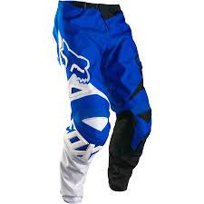 motocross fox gear fox 180 race pant blue 32