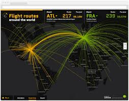 Us Airways Route Map by Geographica Takes Flight With Cartodb For Data Insights U2014 Carto Blog
