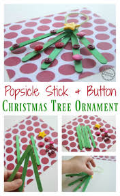popsicle stick christmas tree ornaments planning playtime