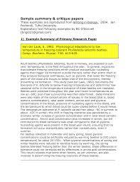 Speech Critique Essay Examples Concert Critique Essays Familiar Essay Snur Article Critique
