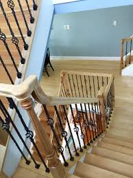 Wood Interior Handrails Interior Railings Boyle Finish Carpenters