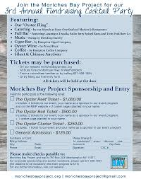 save the date 3rd annual oyster fling moriches bay project