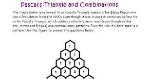 lesson 11 pascal u0027s triangle worksheet pdf google drive