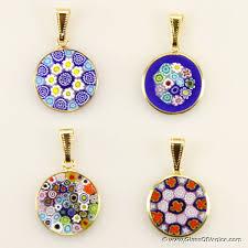 glass necklace pendants wholesale images Wholesale millefiori pendants wholesale murano glass and murano jpg