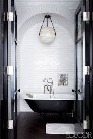 30 black and white bathroom decor design ideas