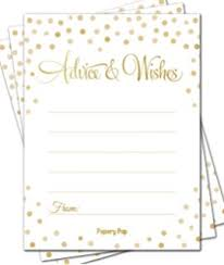 bridal advice cards to be advice cards 20ct kitchen dining