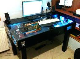 gaming computer desk for sale custom gaming computer desk custom gaming desk google search