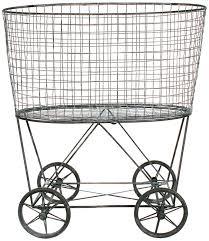 steel laundry basket on wheels ideas 2989 latest decoration ideas