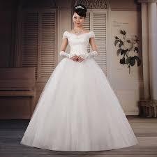 princess wedding dress cerebral quality sweet princess slit neckline wedding