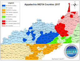 Map Of Kentucky State by Welcome To Ahidta Ahidta