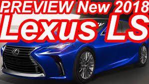 lexus gs concept prévia novo lexus ls 2018 lf fc concept youtube