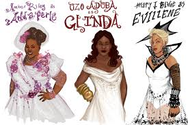 plus size glinda the good witch costume the witches from nbc u0027s u201cthe wiz u201d premiering december 3rd 2015