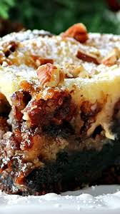 brownie pecan pie ooey gooey butter cake recipe ooey gooey