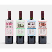 wine gifts wine gift tags set of 8