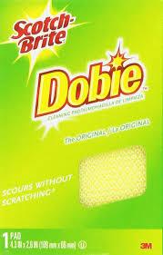 amazon com scotch brite cleaning pads dobie 6 pack health