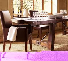cheap x frame costco dining table with leather parson dining