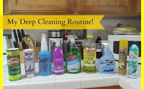 deep cleaning routine entire house youtube