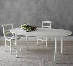 Pottery Barn Kitchen Furniture Extending Oval Dining Table Pottery Barn