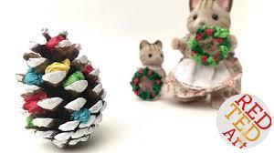 mini pine cone christmas tree diy christmas decor diy diy
