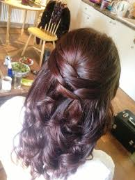 bridal half updo hairstyles half up half down wedding hairstyle