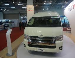 toyota official toyota hiace to make official entry in 2015 team bhp